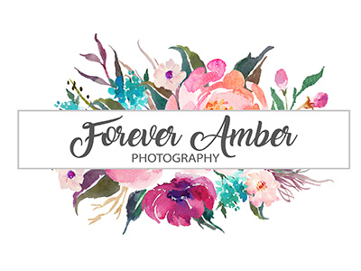 Forever Amber Photography Main Floral Logo