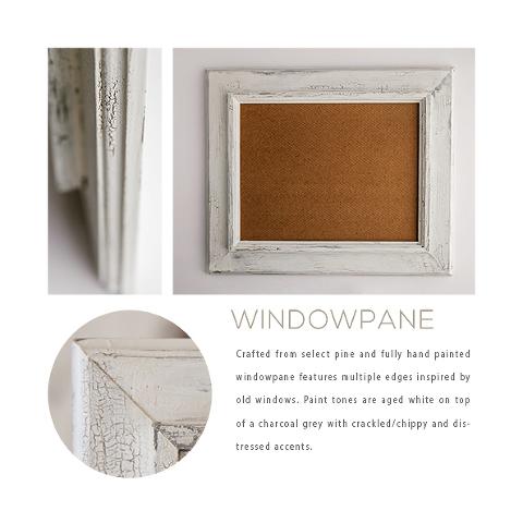 White Barn Wood Frame